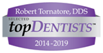 Robert Tornatore Top Dentist Badge